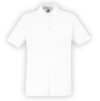 Fruit of The Loom Premium Polo (weiß)