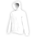 Fruit of The Loom Hooded Sweat (weiß)