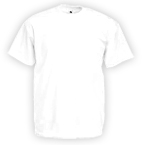Fruit of The Loom Valueweight T-Shirts (weiß)
